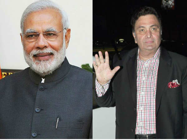 Rishi Kapoor Going Release Narendra Modi S Book Exam Warrior