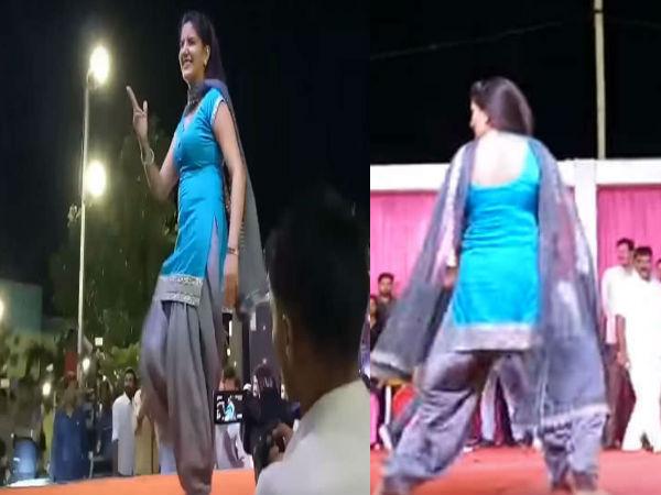 Audience Creates Ruckus Sapna Choudhary Dance Show