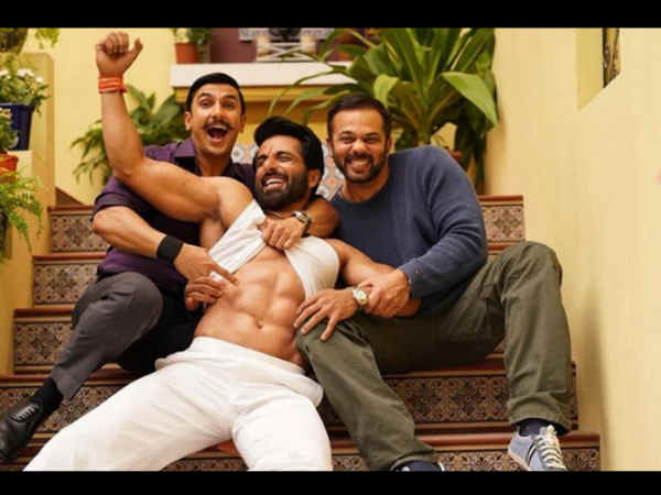 Ranveer Singh Rohit Shetty Shared Sonu Sood First Look Simmba