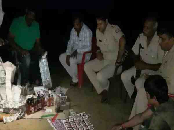 Criminals Up Continue His Liquor Factory School Mainpuri