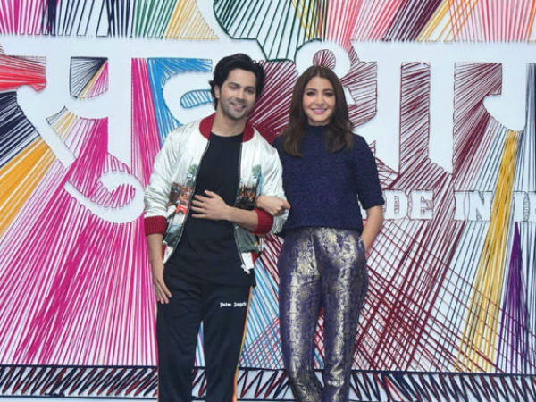 Actors Varun Dhawan Anushka Sharma Have Been Signed On Promo