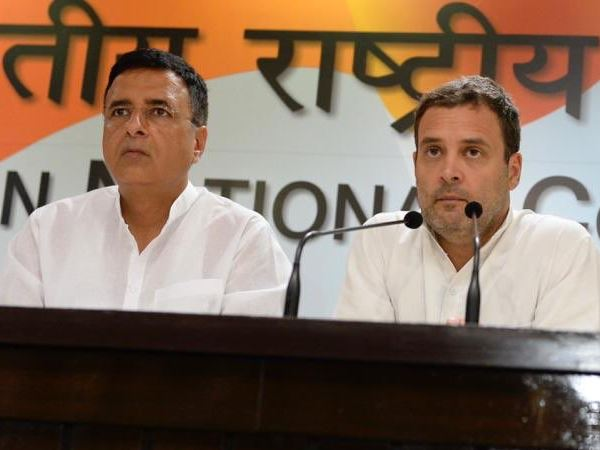 Congress Randeep Singh Surjewala Attack On Bjp Vijay Mallya