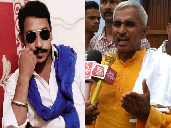 Bjp Mla Surendra Singh Controversial Remarks On Chandrashekh