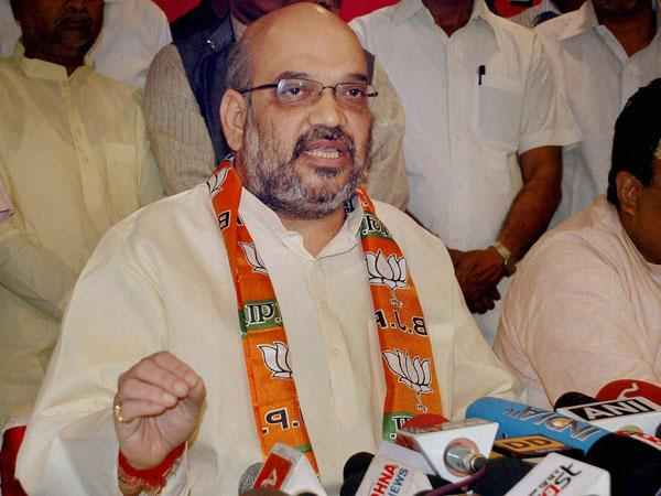 Amit Shah Says Infiltrators Are Mere Vote Bank Sp Bsp Congress