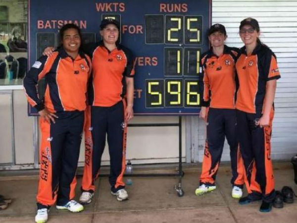 Australian Women Team Won Odi Match 571 Run