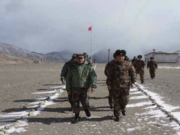 Aerial Transgression Two Chinese Helicopters Ladakh On 27th September