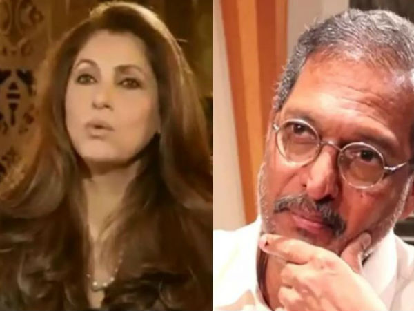 Viral Video After Tanushree Now Dimple Kapadia Opened Up About Nana Patekar Dark Side