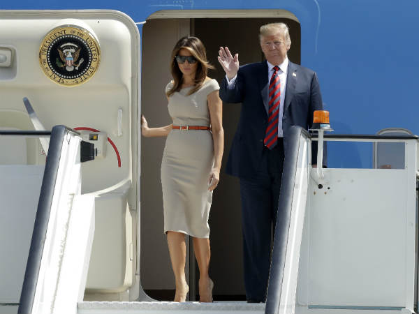 First Lady Melania Trump Talked On Affair Trump