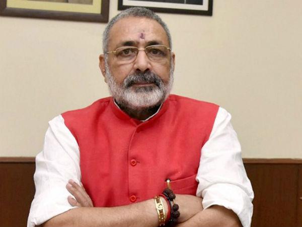 Muslims Are Ram S Descendants Should Help Build Temple Says Union Minister Giriraj Singh
