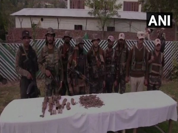 Jammu Kashmir Arms Recovered In Joint Operation In Doda
