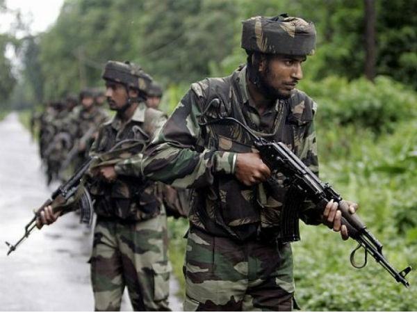 Jammu Kashmir Four Terrorists Were Neutralised An Encounter