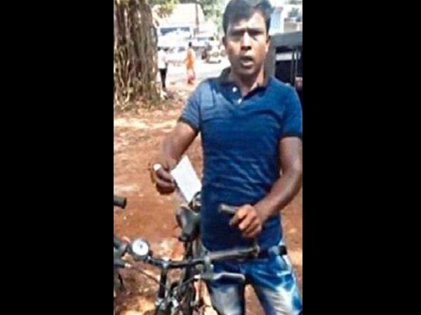 Kerala Police Fines Bicycle Rider For Over Speeding And Riding Without Helmet