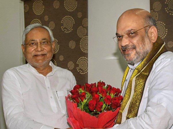 Nitish Kumar Bjp Amit Shah 2019 Lok Sabha Bihar Deal Ram Vilas Paswan Upendra Kushwaha