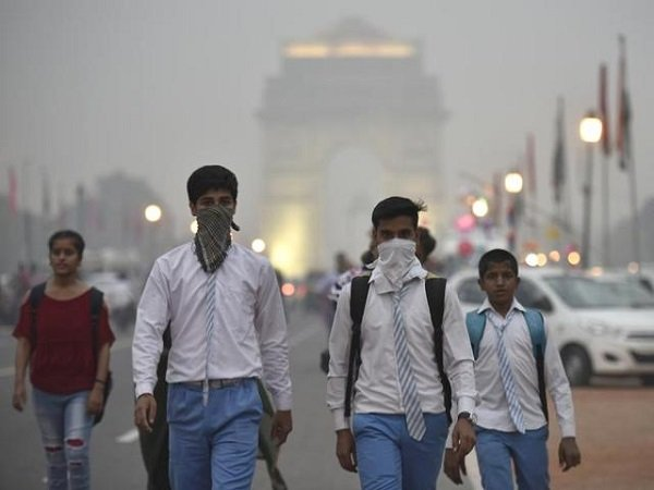 Atmosphere Delhi Appear Be Affected Pollution Be Alert