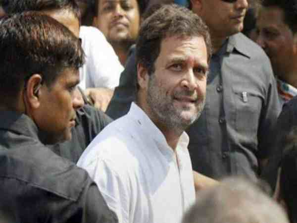 Rahul Gandhi Had Narrow Escape As Major Fire Was Averted During Roadshow