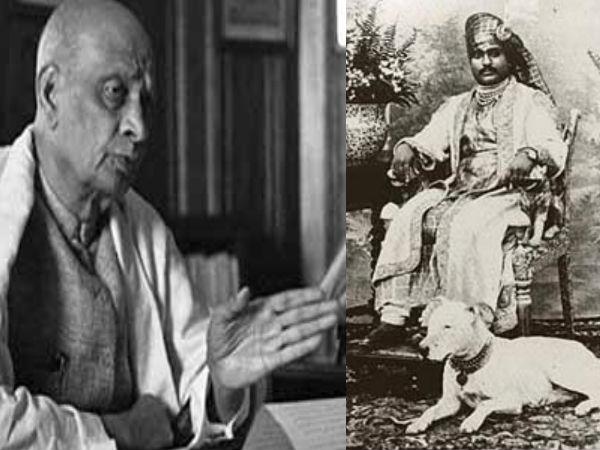 Patel Forced Nawab Junagarh Accede India
