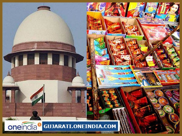 Supreme Court Allows Sale Firecrackers With Conditions