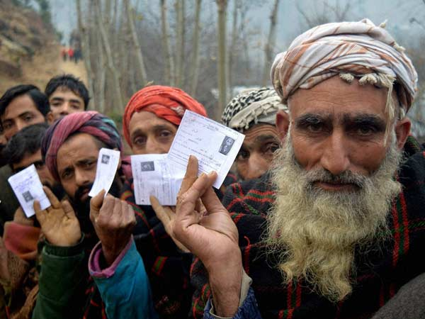 Jammu Kashmir Witnesses The 4rth Phase Civic Polls Today