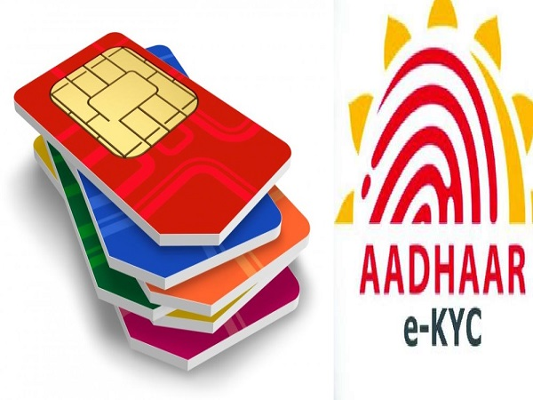 Aadhaar Only Kyc Mode May Cause 50 Cr Mobile Disconnection