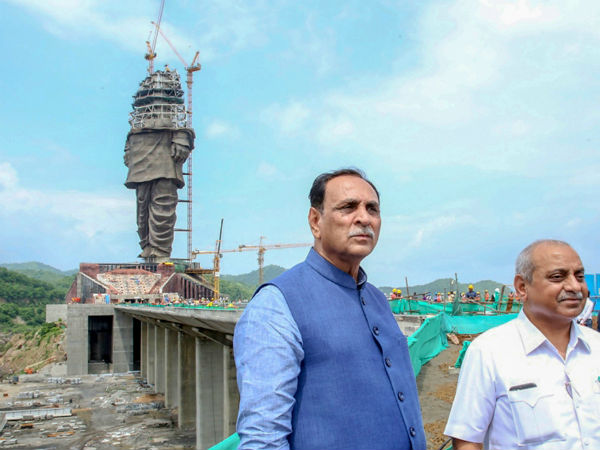 Statue Unity Gujarat Deeply Is Divided