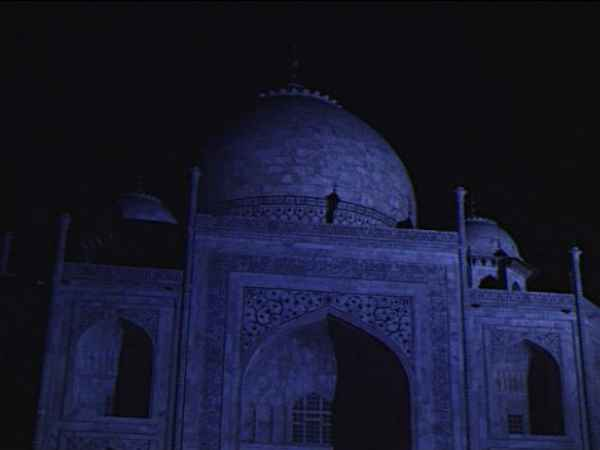Taj Looks Different On Sharad Poornima Agra