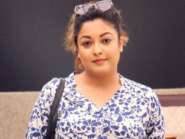 Non Cognisable Offence Complaint Registered Against Tanushree Dutta Allegedly Defaming Raj Thackery