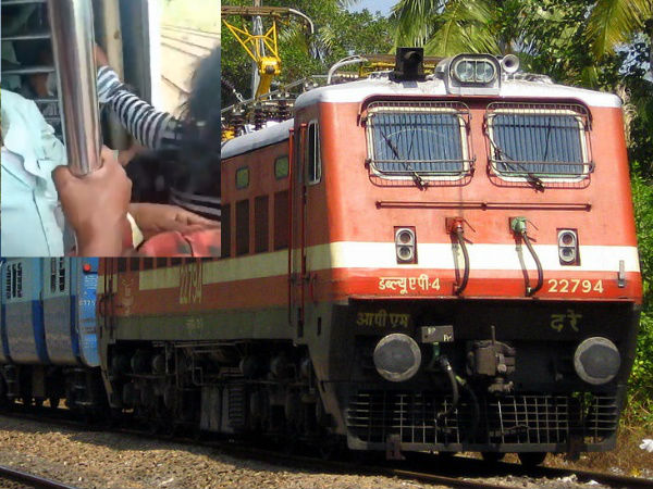 Horrible Video Mumbai Boy Save Girl Falling From Running Train