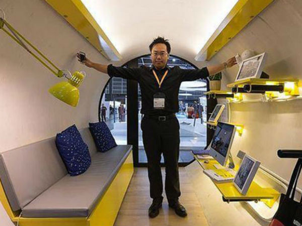 Hong Kong Tube Homes With Wifi Tv And Latest Technology
