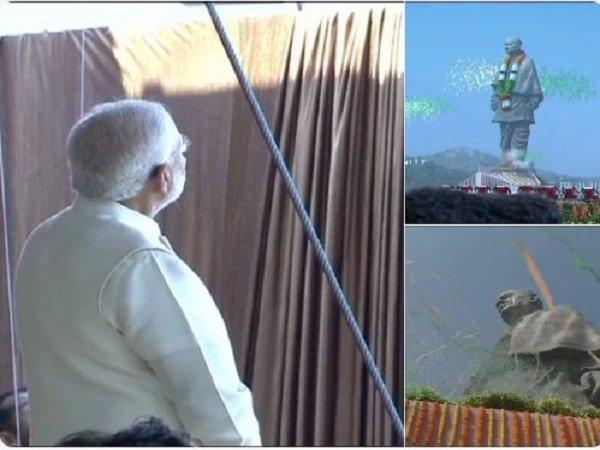 Statue Unity Pm Narendra Modi Inauguration Speech Kevadiya G