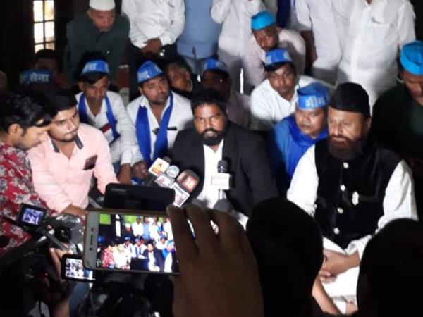 Bhim Sena President Gives Controversial Statement Over Ayodh