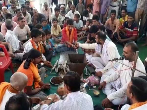 Baghpat 13 Muslims Converted Into Hindu Religion Tells The M