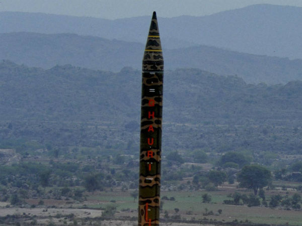 Pakistan Army Conducts Training Launch Ghauri Missile