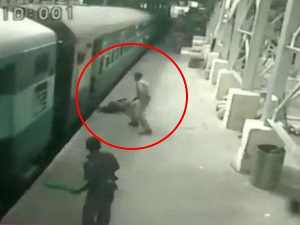 Video: દરવાજા-સ્ટેશન વચ્ચે ફસાયેલા વ્યક્તિને Rpf જવાને ચાલતી ટ્રેનમાં બચાવ્યો