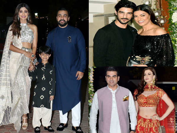Shilpa Shetty Gives Nice Party Deewali Celebrations Arbaaz