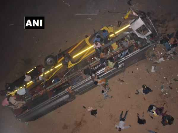 Odisha Bus Carrying Around 30 Passengers Fell From The Mahanadi Bridge