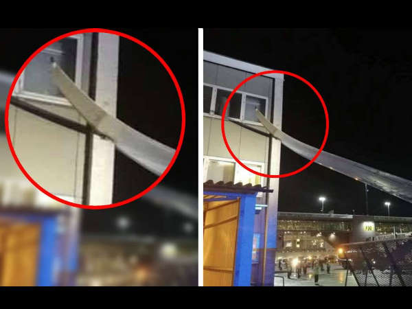 Air India Plane Hits Building At Stockholm Airport All Passengers Safe