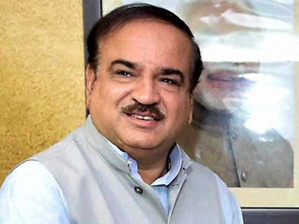 Union Minister Ananth Kumar Passed Away At The Age 59 Bengaluru
