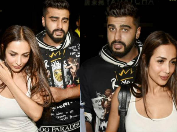 Lovebirds Arjun Kapoor Malaika Arora Enjoy Date Night Mumbai