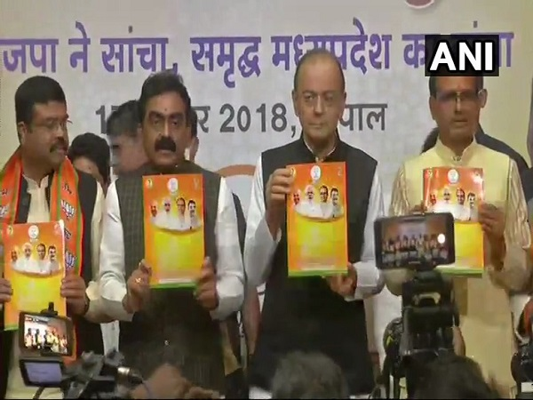 Madhya Pradesh Bjp Releases It Manifesto As Vision Document