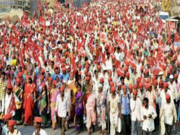 The Third Time Three Months Farmers Protest Delhi Today