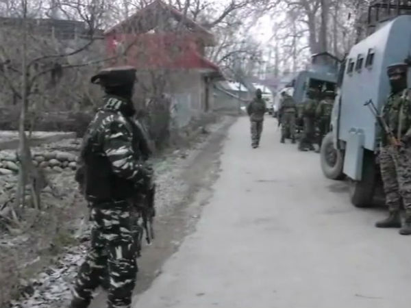 Encounter Underway Between Security Forces And Terrorists In Kapran Area Of Shopian