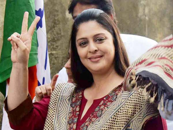 Nagma Says If You Vote Bjp Then Only Fry Pakodas Madhya Pradesh Assembly Election