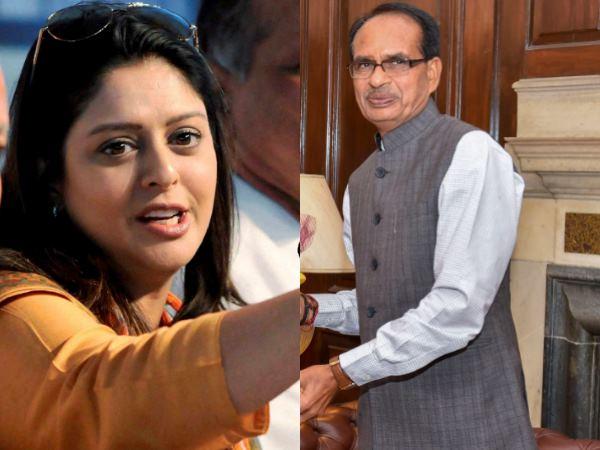 Madhya Pradesh Assembly Elections 2018 Nagma Attacks Shivraj Singh Chouhan Shares Video Social Media