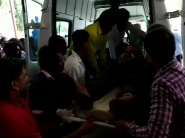 Naxals Blow Bus Near Bacheli Chhattisgarh S Dantewada