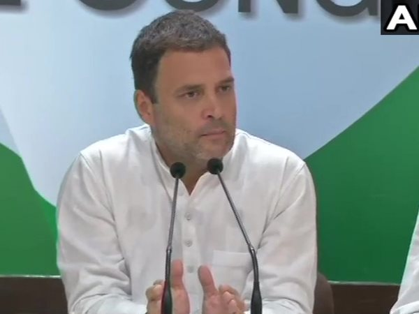 Rahul Gandhi Says Rafale Deal Is Open Shut Case Its Modi Amb