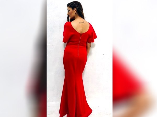 Sapna Choudhary New Hot Pics Red Gown Goes Viral