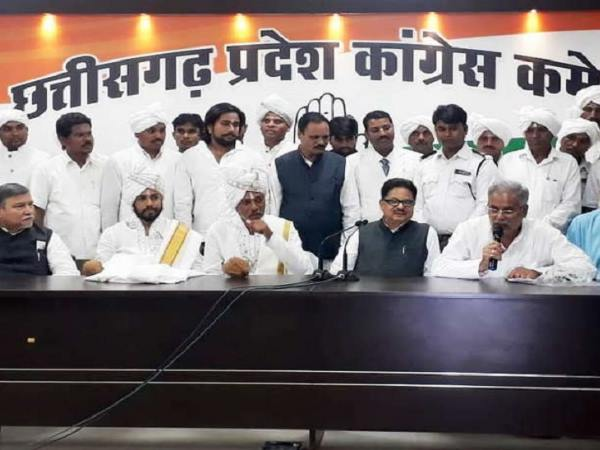 Satnami Guru Baldas Support Congress Chhatisgarh Assembly Elections