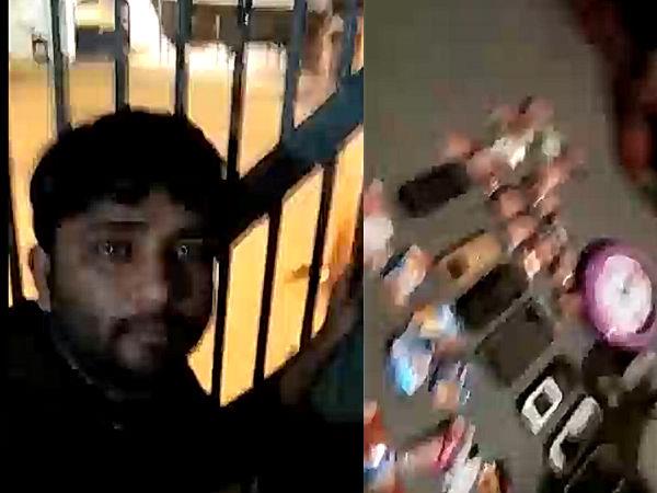Surendranagar Jailer Suspended After Video Prisoner Gone Viral