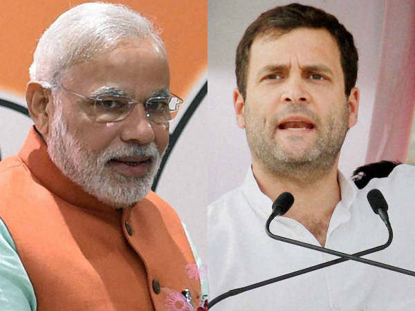 Pm Narendra Modi Ahead Rahul Gandhi Survey Conducted Congres