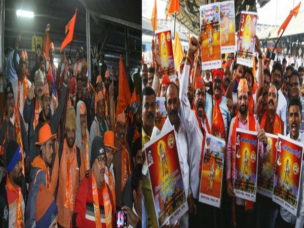 Ram Mandir Row Shiv Sena Vhp Set Massive Show Strength Both Mobilise Cadre